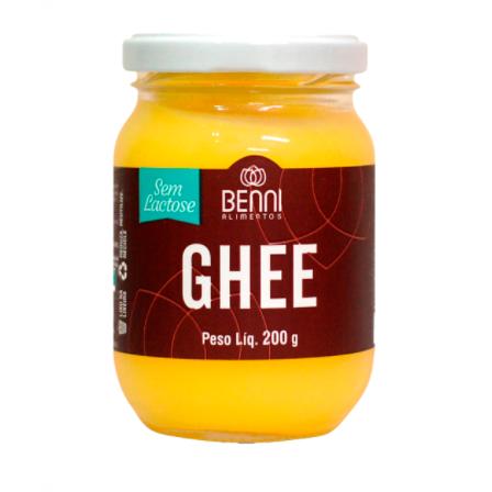 Manteiga Ghee Tradicional 200g - Benni