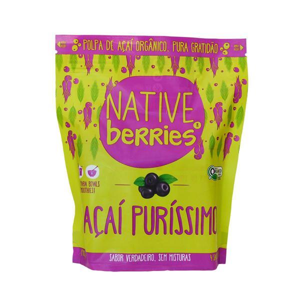 Polpa de Açaí Puríssimo Native Berries 400g
