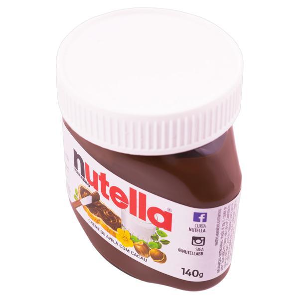 Creme de Avelã com Cacau Nutella Pote 140g