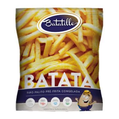 Batata Palito Batatille Congelada 2Kg Pacote