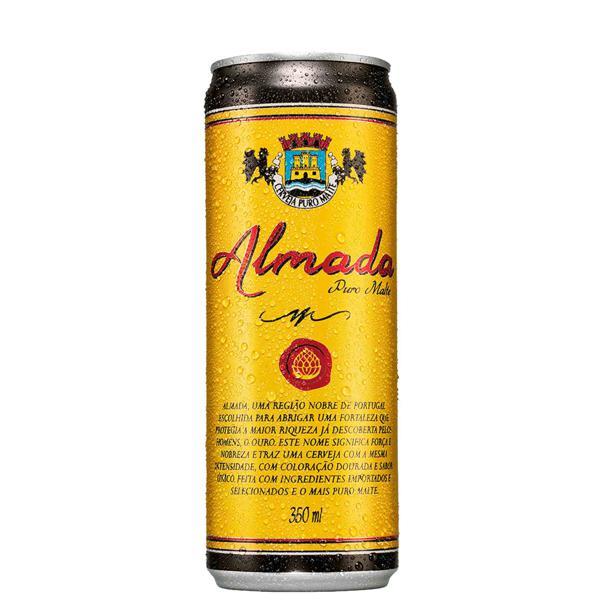 Cerveja Almada Puro Malte 350Ml Lata