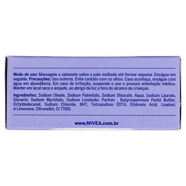 Sabonete em Barra Hidratante Nivea Creme Soft Milk Caixa 90g