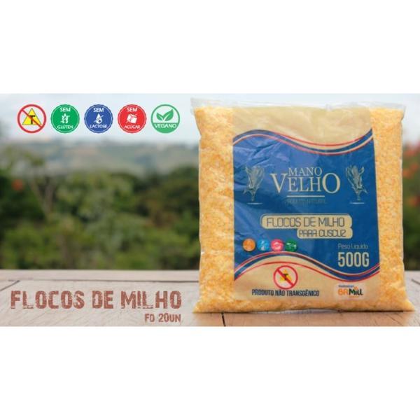 Flocos de Milho Natural 500g