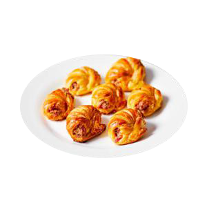 Mini Croissant Peito De Peru Encomenda