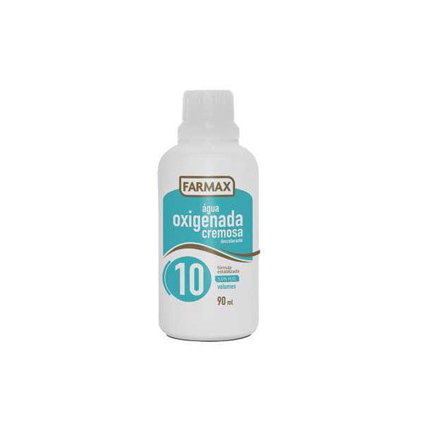 Agua Oxigenada Farmax Cremosa 10 Volumes 90Ml