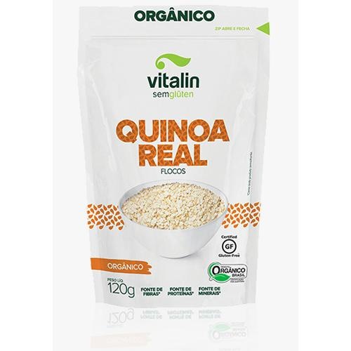 Quinoa real em flocos 120