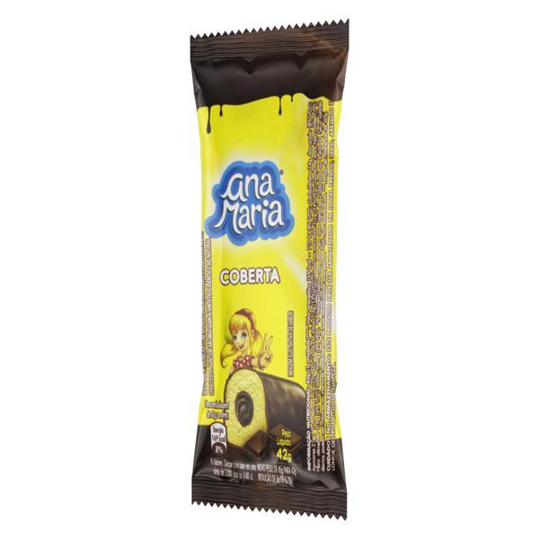 Bolo Baunilha Recheio e Cobertura Chocolate Ana Maria Pacote 42g