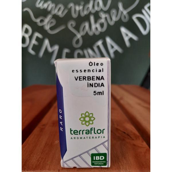 Óleo Essencial Verbena Índia 5ml TERRA-FLOR