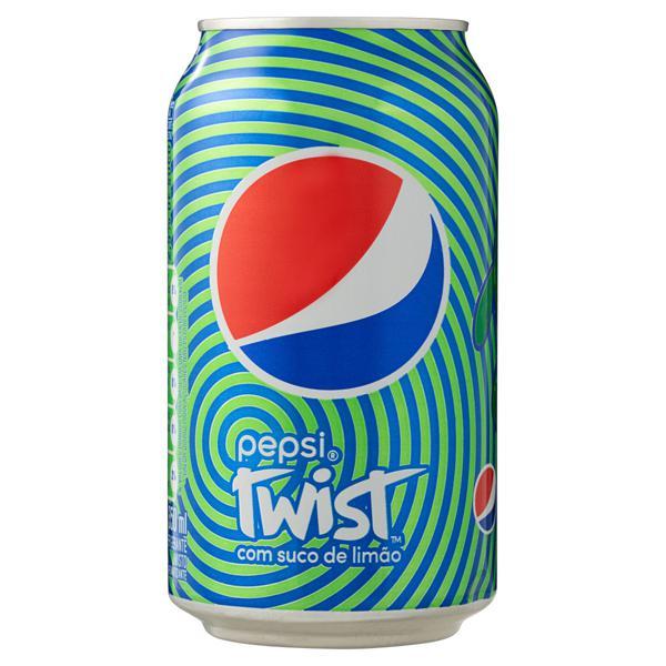 Refrigerante Pepsi Twist Lata 350ml