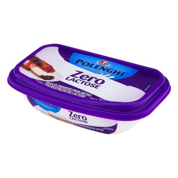 Queijo Cremoso Zero Lactose Polenghi Pote 150g