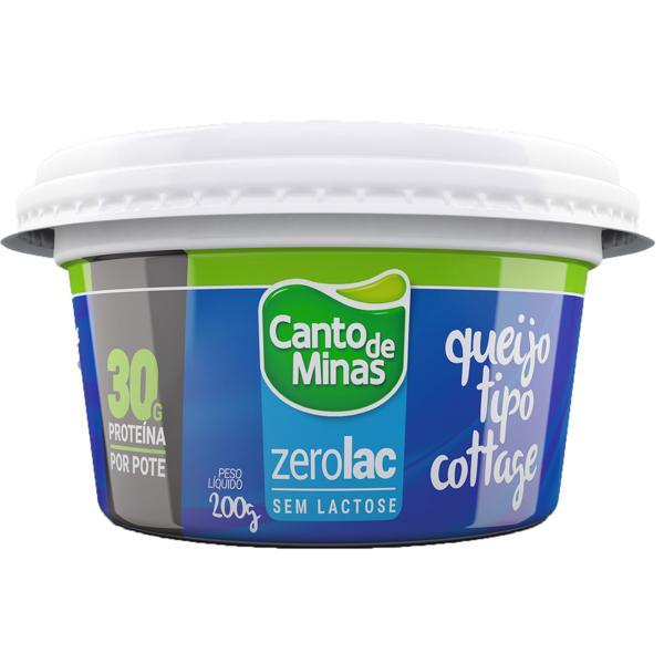 Queijo Cottage CANTO DE MINAS sem Lactose 200g