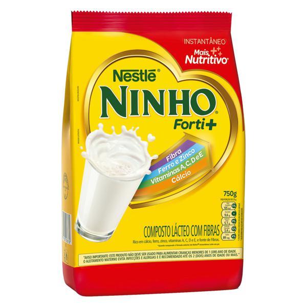Composto Lácteo Nestlé Ninho Forti+ Pacote 750g