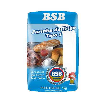 Farinha de Trigo BSB 1Kg