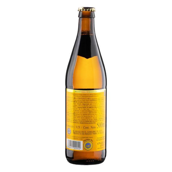 Cerveja Münchner Hell Paulaner Garrafa 500ml