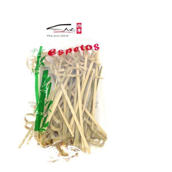 Espeto de Bambu com Nó SHIKI 9cm
