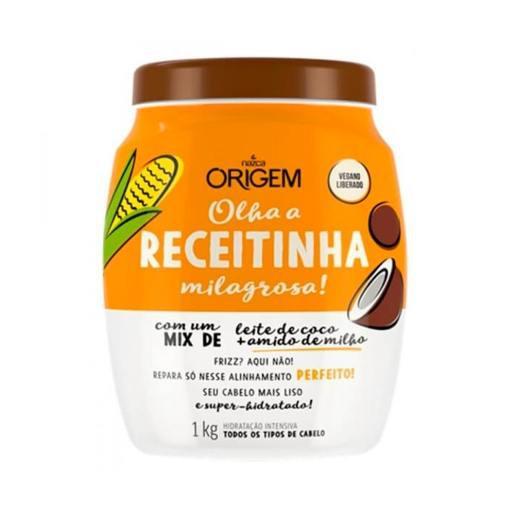 Creme Hidratante ORIGEM Amido Milho e Leite Coco 1kg