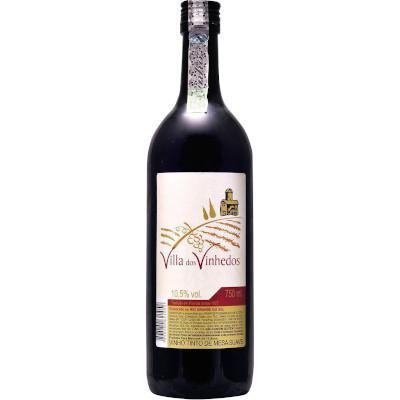 Vinho tinto Nacional VILA DOS VINHEDOS Suave garrafa 750ml