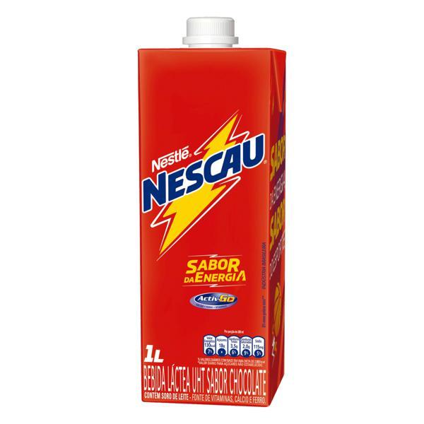 Bebida Láctea UHT Chocolate Nestlé Nescau Caixa 1l