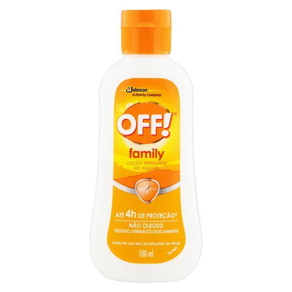 Repelente Loção Off! Family Frasco 100ml