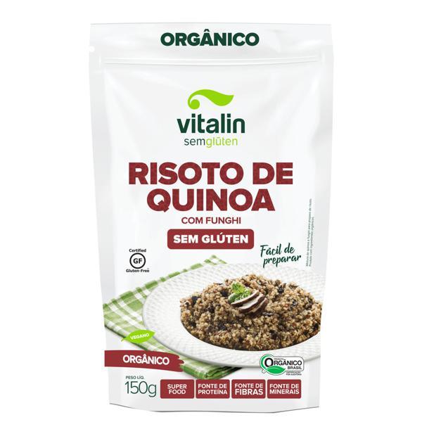 Risoto de Quinoa com Funghi