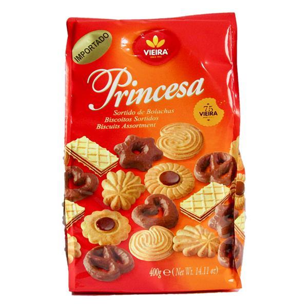 Biscoito Sortido Vieira Princesa Pacote 400g