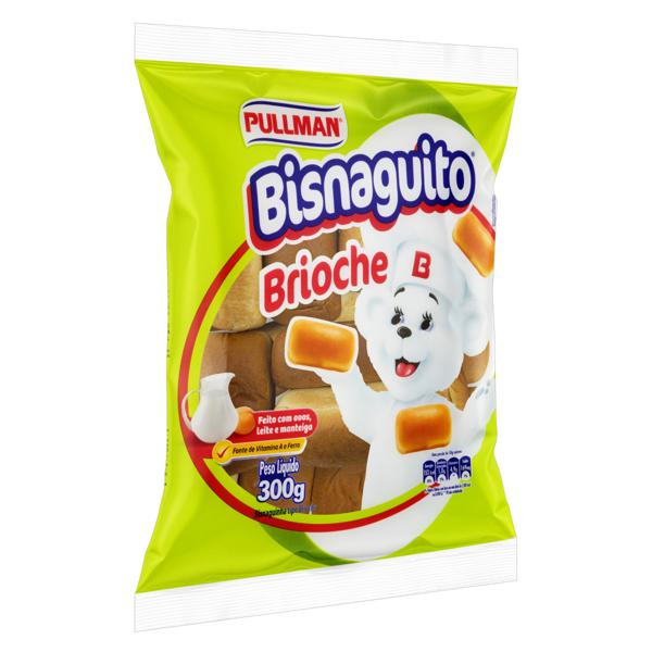 Pão Bisnaguinha Brioche Pullman Bisnaguito Pacote 300g