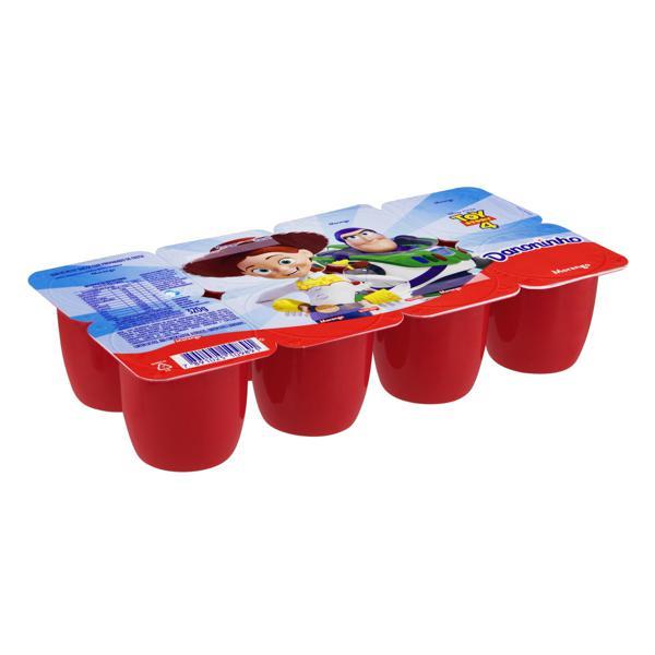 Queijo Petit Suisse Morango Toy Story 4 Danoninho Bandeja 320g 8 Unidades