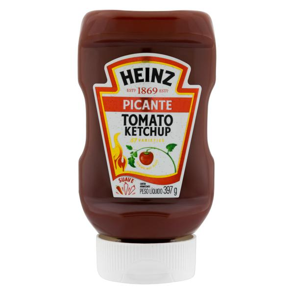 Ketchup Picante Heinz Squeeze 397g