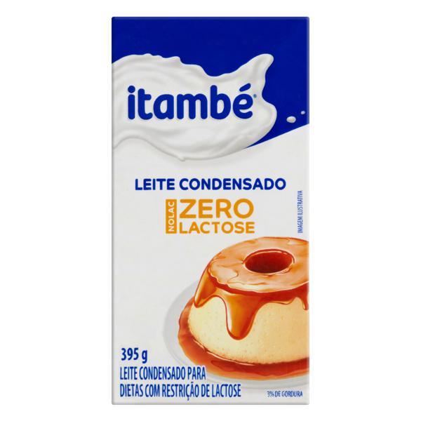 Leite Condensado Zero Lactose Itambé Nolac Caixa 395g