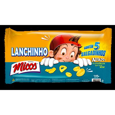 Salgadinho MICOS Lanchinho Kids Com 5 Unidades 146g