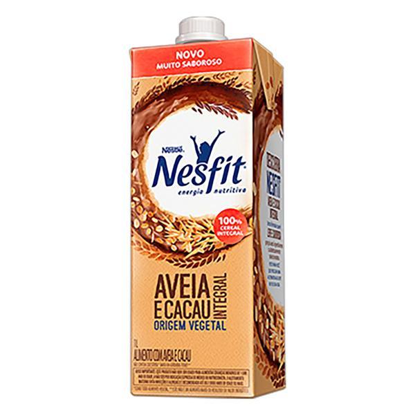 Bebida à Base de Aveia Integral Cacau Nestlé Nesfit Caixa 1l