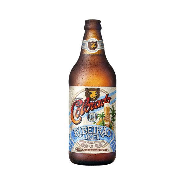 Cerveja Colorado 600Ml One Way Ribeirão Lager
