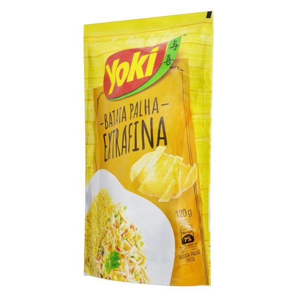 Batata Palha Extrafina Yoki Sachê 120g