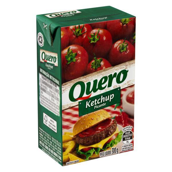 Ketchup Picante Quero Caixa 300g