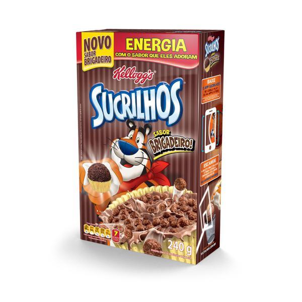 Cereal Matinal Brigadeiro Kellogg's Sucrilhos Caixa 240g