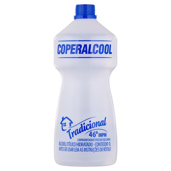 Álcool Líquido 46º INPM Tradicional Coperalcool Frasco 1l