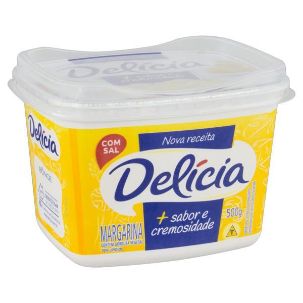 Margarina com Sal Delícia + Sabor e Cremosidade Pote 500g