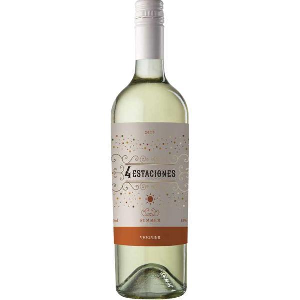 Vinho Argentino 4 Estaciones Viognier 750Ml