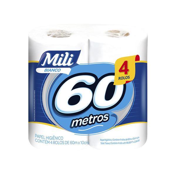 Papel Hig Mili Bianco Perf 4X60Mt