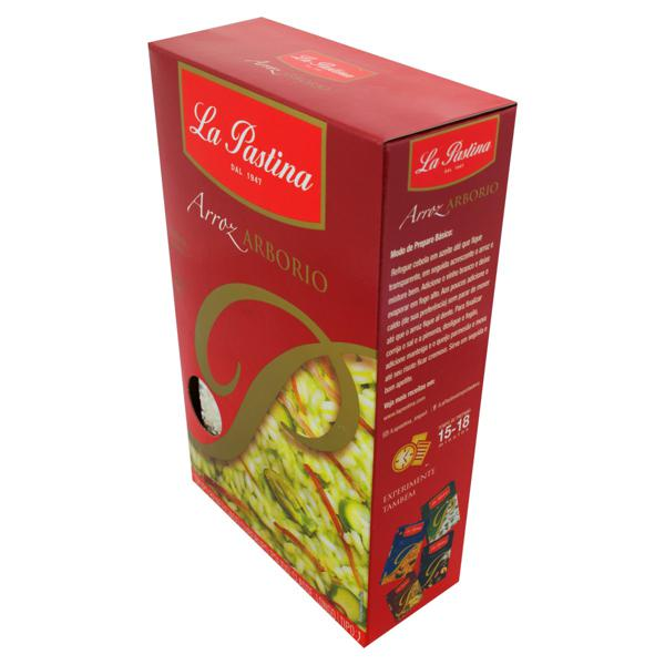 Arroz Arbório Tipo 1 La Pastina Caixa 1kg