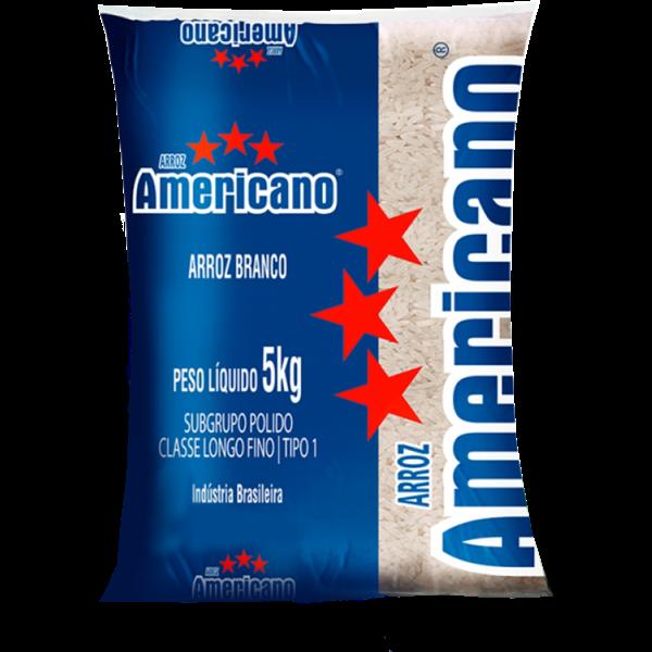 Arroz AMERICANO Tipo 1 Nacional 5kg