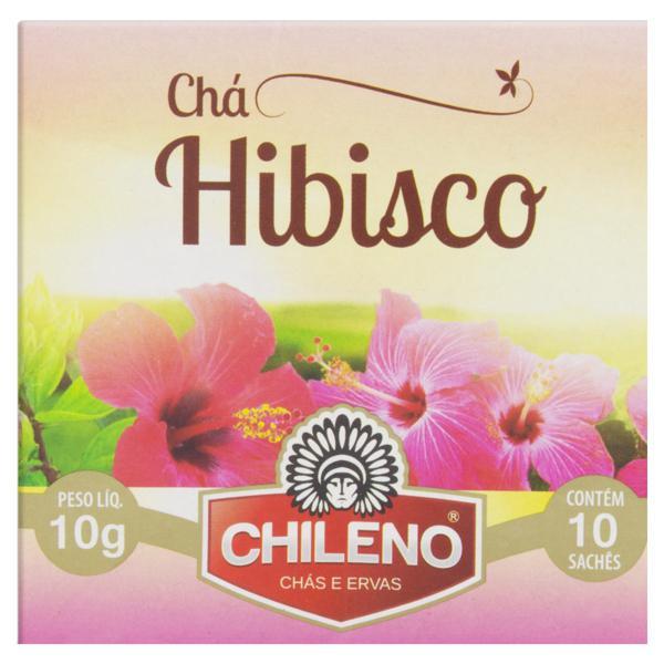 Chá de Hibisco Chileno Caixa 10g 10 saches