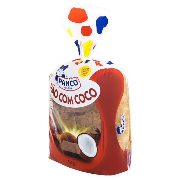 Pão Caseiro Coco Panco Pacote 350g