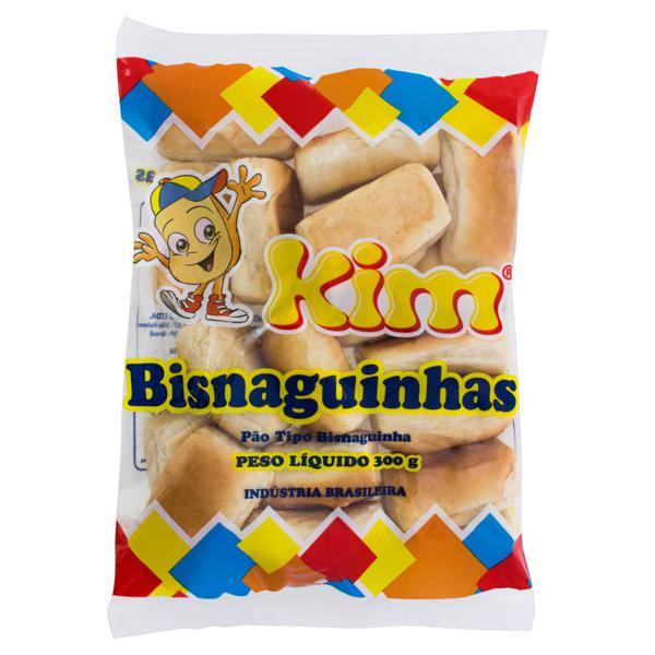 Pão Bisnaguinha Kim Pacote 300g