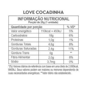 Barra Love Cocadinha Hart's 35g