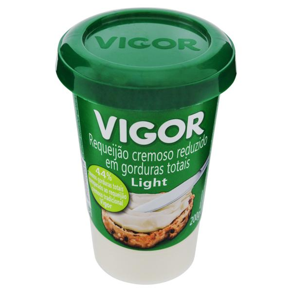 Requeijão Cremoso Light Vigor Copo 200g