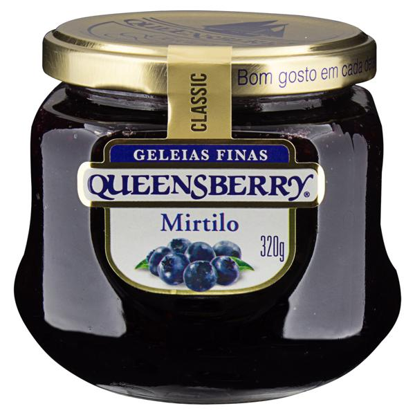 Geleia Mirtilo Queensberry Classic Vidro 320g