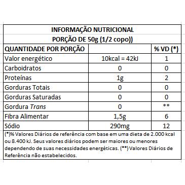 Palmito Açaí Orgânico Inteiro Imperador 800g