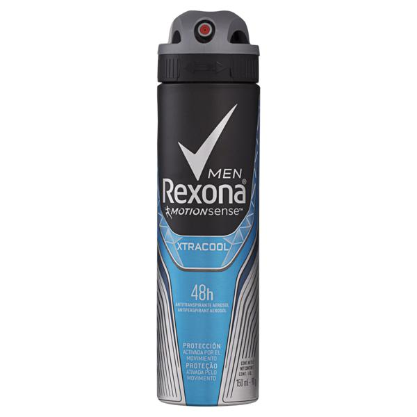 Antitranspirante Aerossol Xtracool Rexona Men Motionsense 150ml