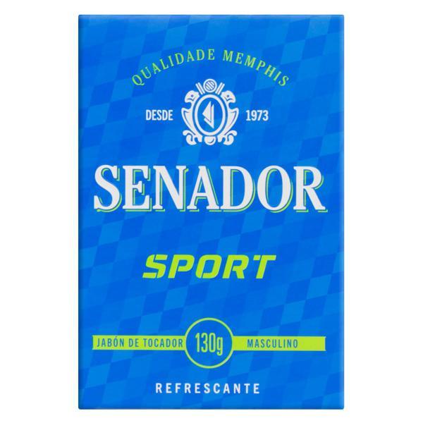 Sabonete em Barra Senador Sport Caixa 130g